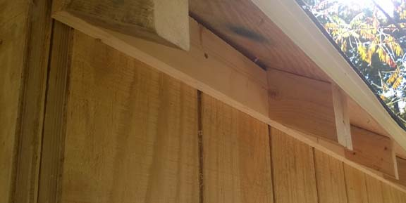 Plywood Roof Overhang Amp Building A Shed Roof Itu0027s Time