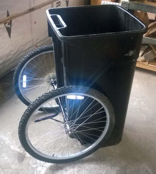 Life Hacks Trash Can Wheels
